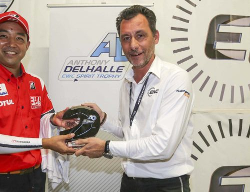 ヨシムラ、鈴鹿8耐Anthony Delhalle EWC Spirit Trophyを受賞